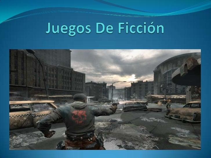 Juegos De Ficción<br />