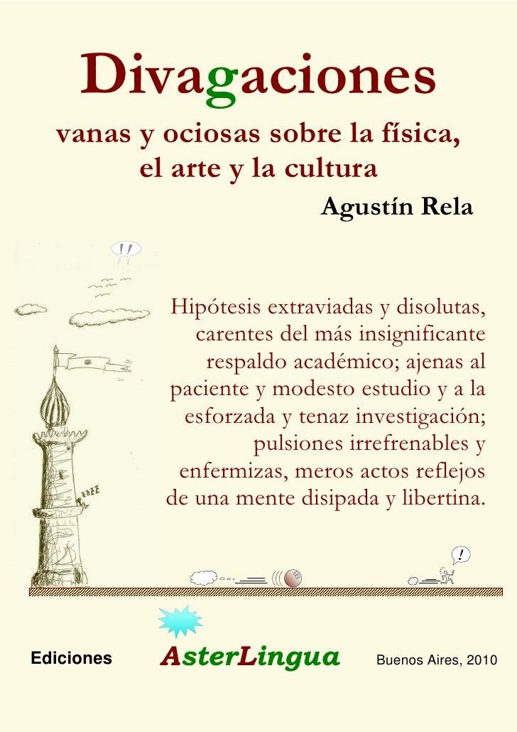 Presentación de libro Divagaciones (Pdf)
