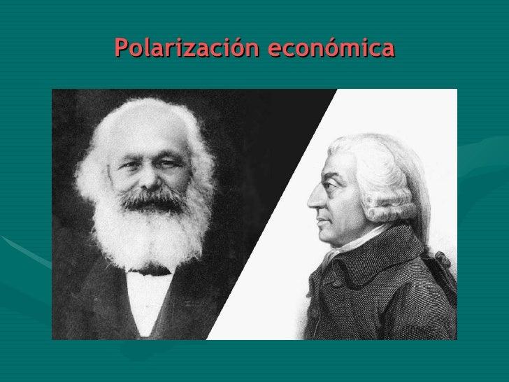 Polarización económica