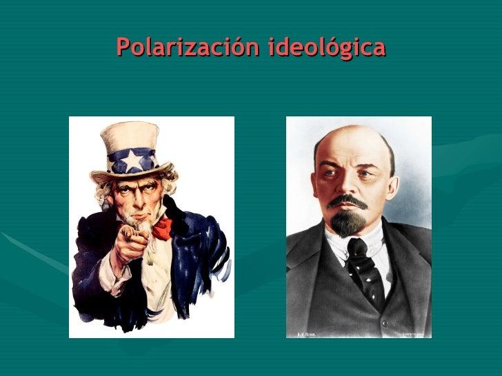 Polarización ideológica