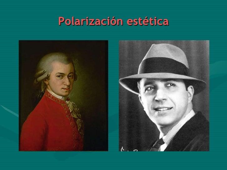 Polarización estética