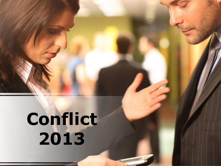 Conflict 2013