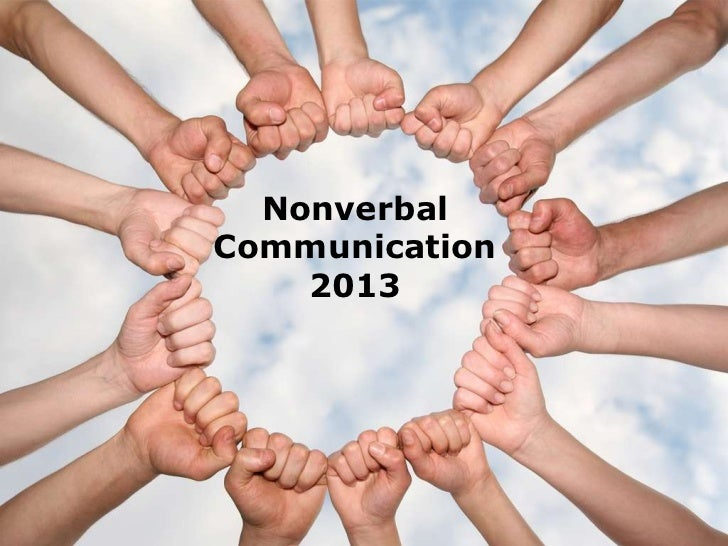 non verbal verbal exchanges presentation