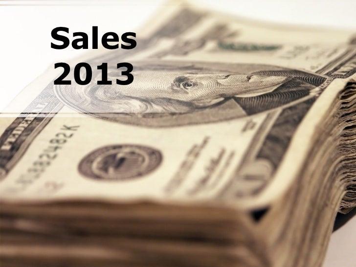 Sales2013