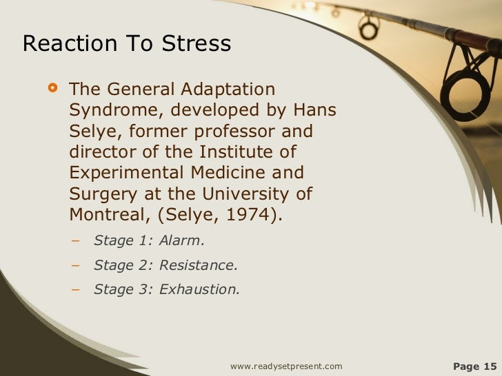 """Reminiscences of Hans Selye, and the Birth of """"Stress"""""""