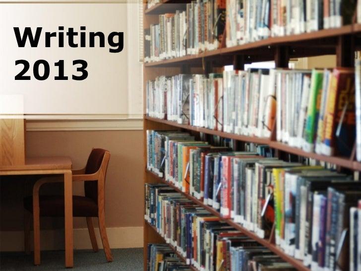 Writing2013