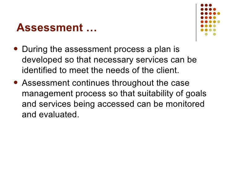 Develop Facilitate And Monitor All Aspects Of Case Management S109