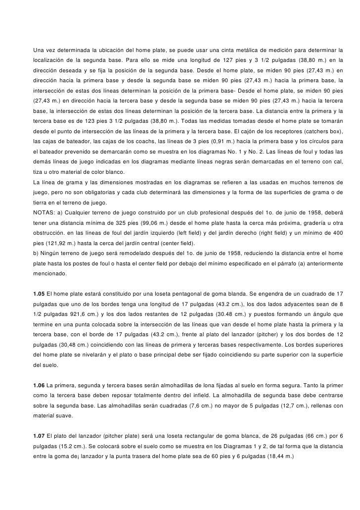 REGLAMENTO DE BEISBOL Slide 2