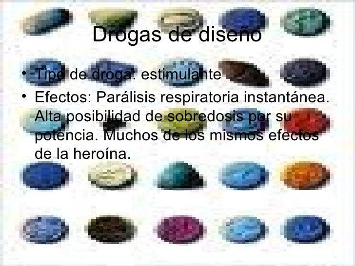 tipos de drogas y efectos Slide 3