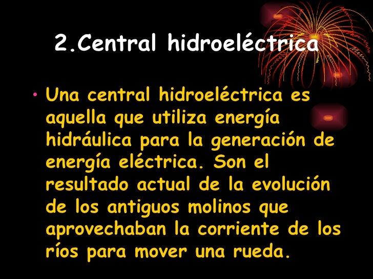 Energía Hidráulica Slide 3
