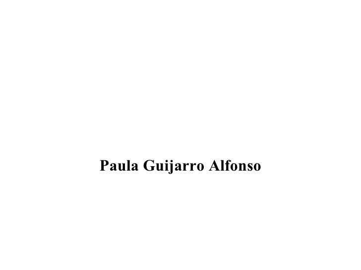 Paula Guijarro Alfonso