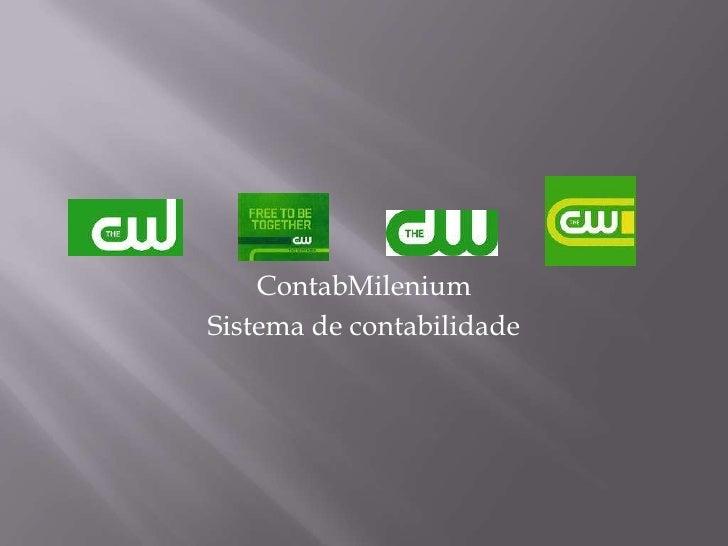 ContabMilenium<br />Sistema de contabilidade<br />