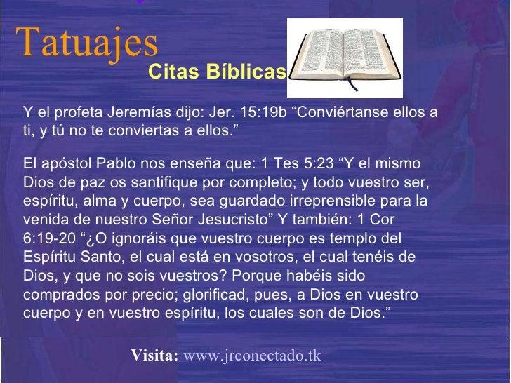 """Y el profeta Jeremías dijo: Jer. 15:19b """"Conviértanse ellos a ti, y tú no te conviertas a ellos.""""  El apóstol Pablo nos en..."""