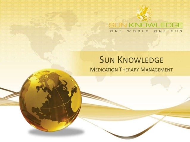 SUN KNOWLEDGE MEDICATION THERAPY MANAGEMENT