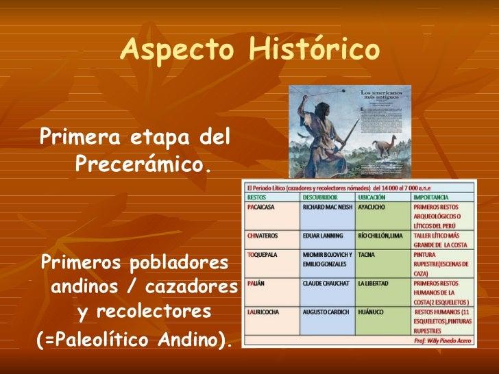 Culturas Prehispanicas Del Peru Periodo Litico