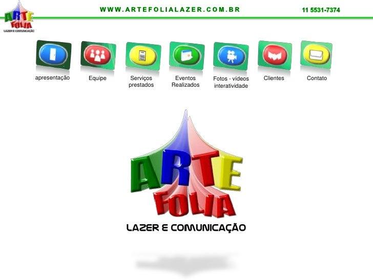 apresentação                                                      Clientes   Contato                Equipe    Serviços    ...