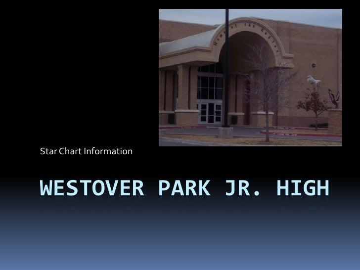 Westover Park Jr. High<br />Star Chart Information <br />