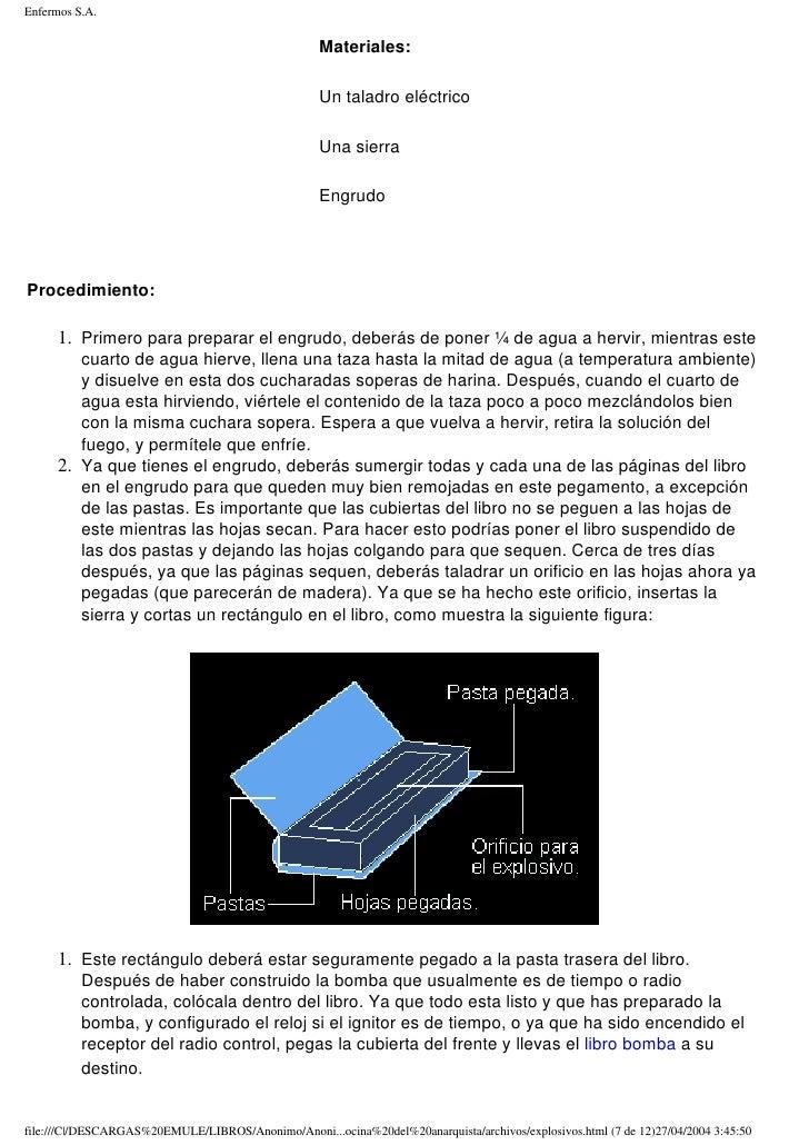Libro de cocina del anarquista pdf shared files