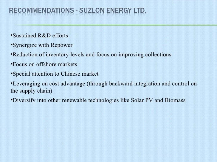 strategic management suzlon He is trainer, speaker and conference chairperson in many of conferences organized by marcus evans, malaysia viz strategic supplier relationship management at mumbai, logistic conference at dubai, and inventory management at kuala lumpur, stream of total logistic conference in shenzhen, china.