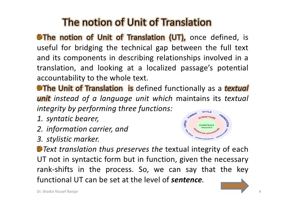 Translation unit