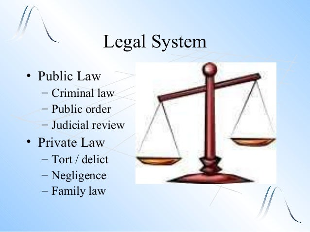 Legal Systems and Court Structures