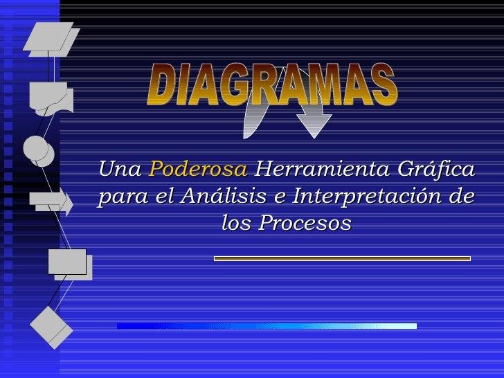 Una  Poderosa  Herramienta Gráfica para el Análisis e Interpretación de los Procesos DIAGRAMAS