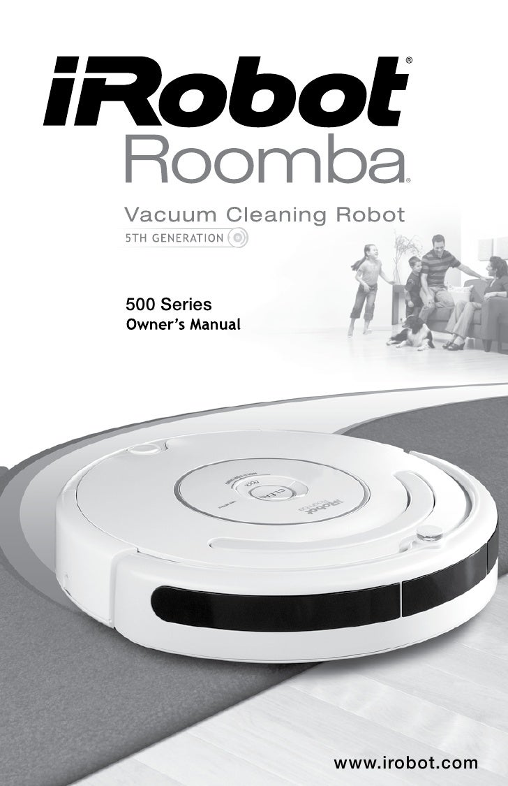 irobot roomba 500 series manual