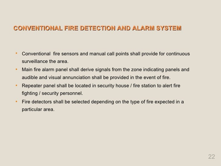 fire detection and alarm system rh slideshare net Tariff of 1824 Tariff of 1789