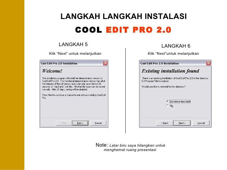 cool edit pro 2.0 crack zip