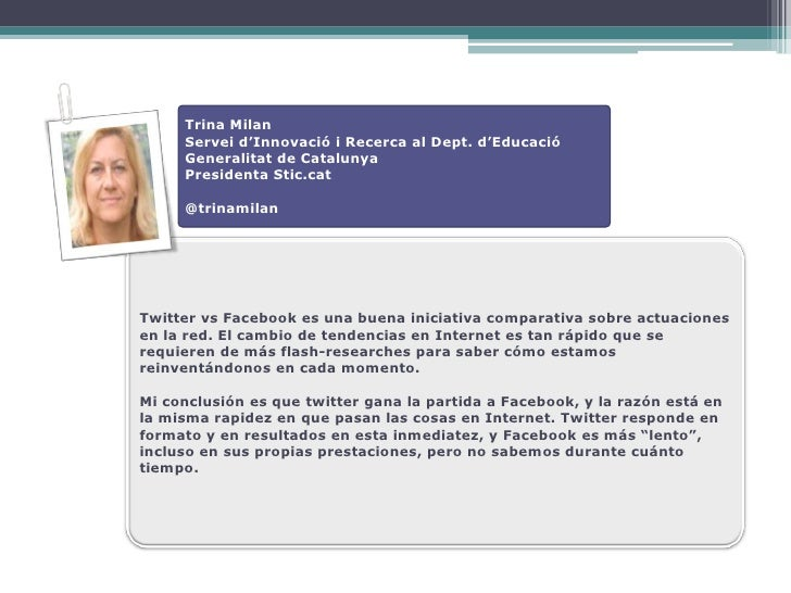 Trina Milan      Servei d'Innovació i Recerca al Dept. d'Educació      Generalitat de Catalunya      Presidenta Stic.cat  ...