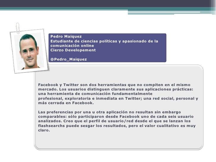 Pedro Maiquez      Estudiante de ciencias políticas y apasionado de la      comunicación online      Cierzo Developement  ...