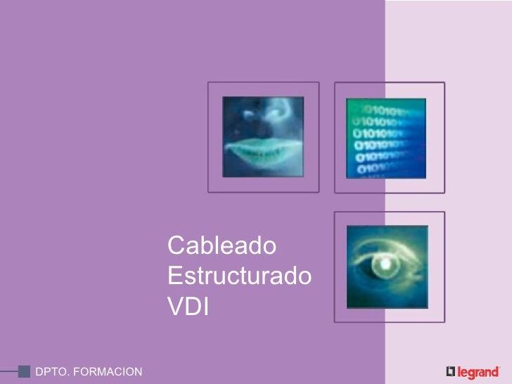 Cableado Estructurado  VDI