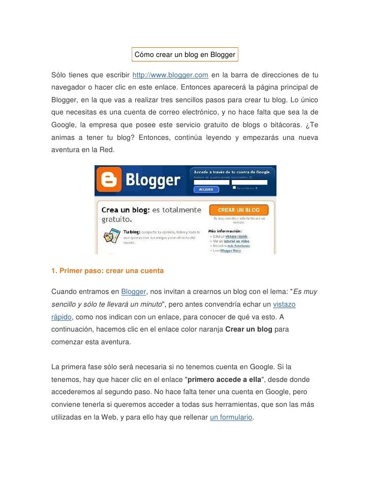 "HYPERLINK "" http://avalerofer.blogspot.com/2007/02/cmo-crear-un-blog-en-blogger.html""  Cómo crear un blog en Blogger<br /..."