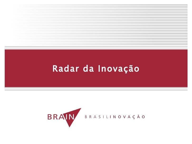 Radar da Inovação