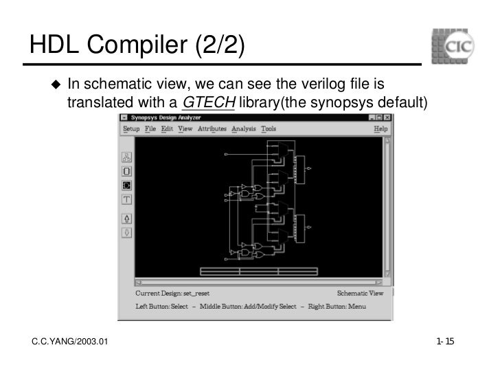 The Logic Schematic Net List File For The Above Nand Gate Schematic