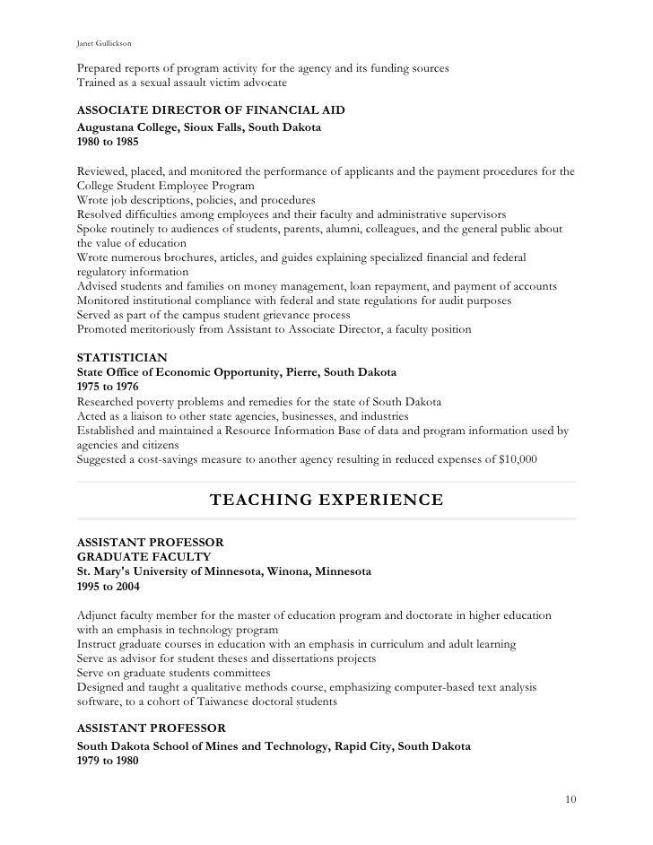 jan s resume