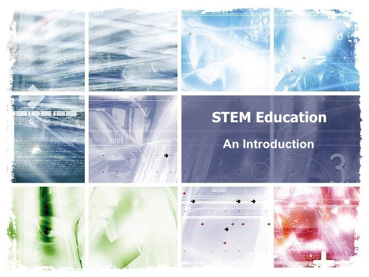 STEM Education An Introduction