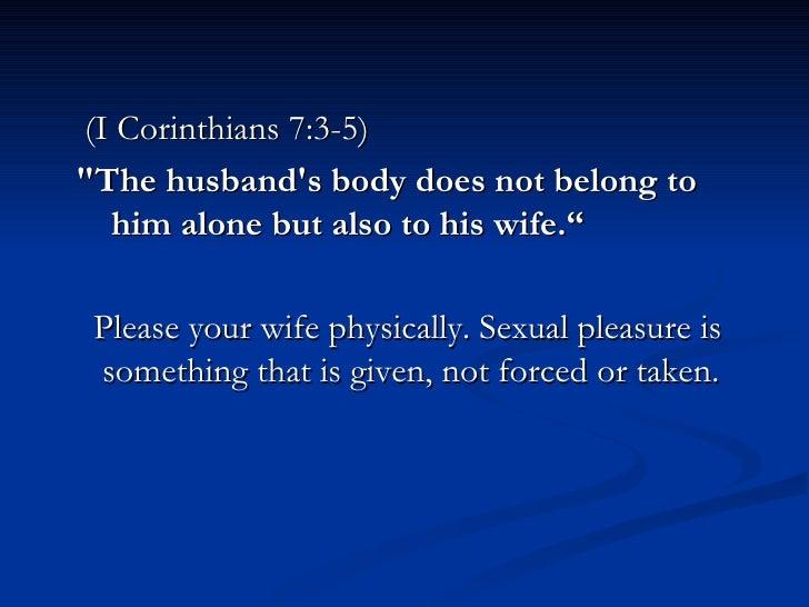 Wife alone pleasure