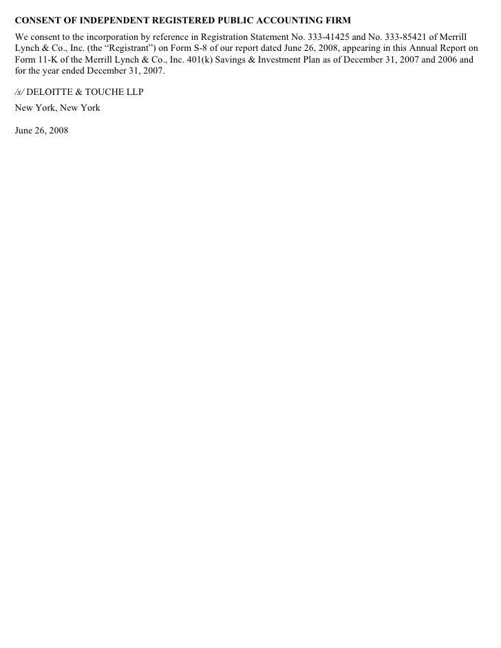 Merrill Lynch_SEC Filing_Employee Stock Purchase