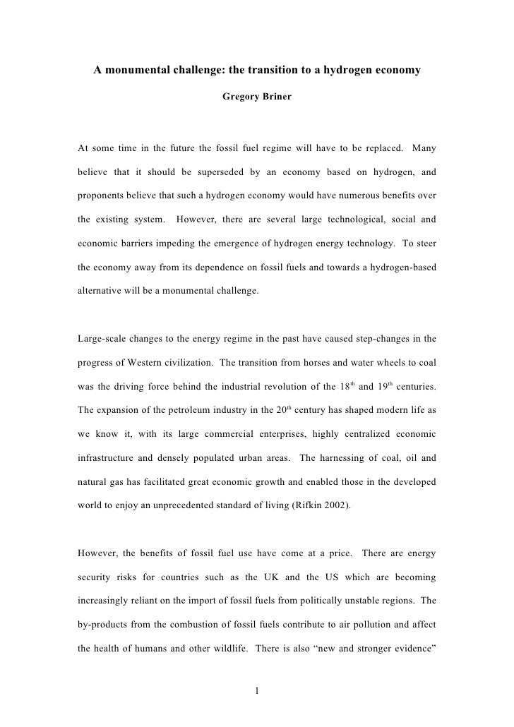 benefits of alternative energy essay