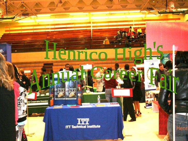 Henrico High's  Annual Career Fair