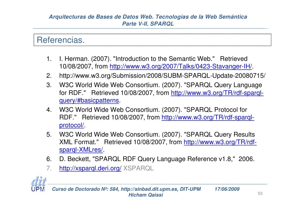 SPARQL 11 Query Language  World Wide Web Consortium