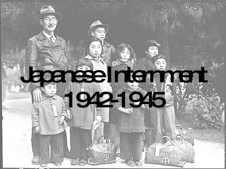 Japanese Internment 1942-1945