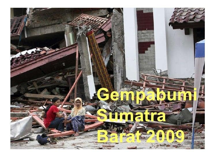 Gempabumi Sumatra Barat 2009