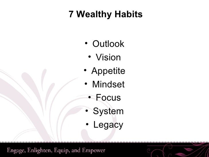 The Power of The Purse: The 7 Wealthy Habits of Successful