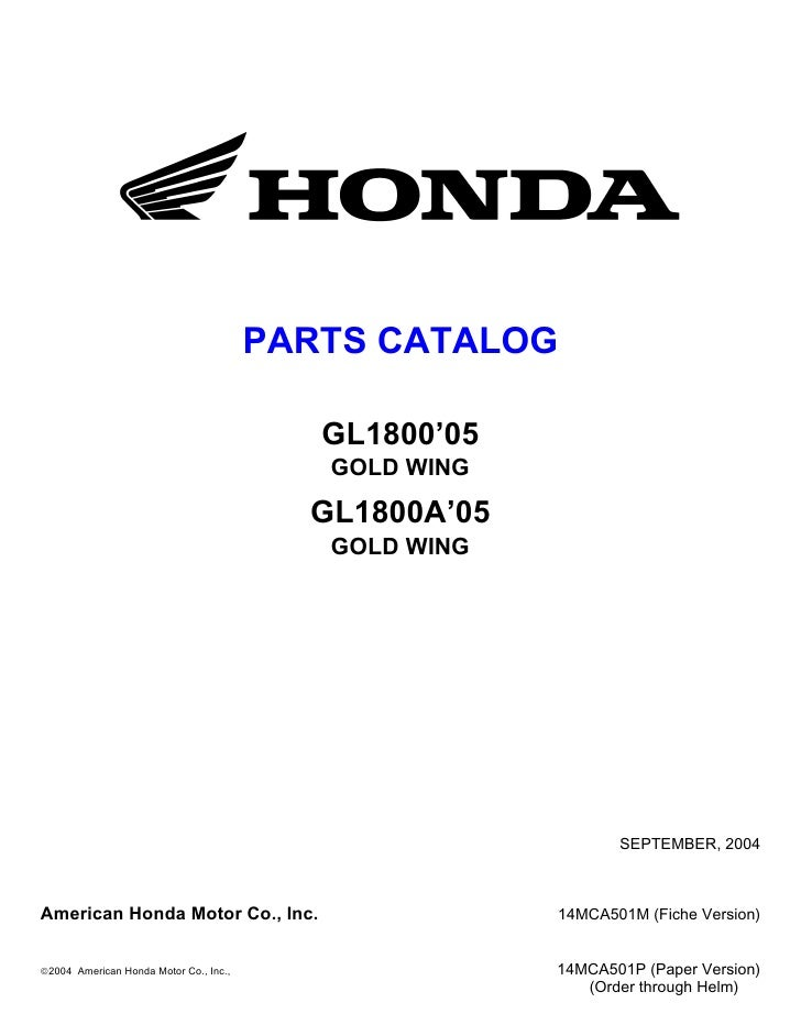 Honda Gold Wing Motorcycle Wiring Diagrams Honda 90