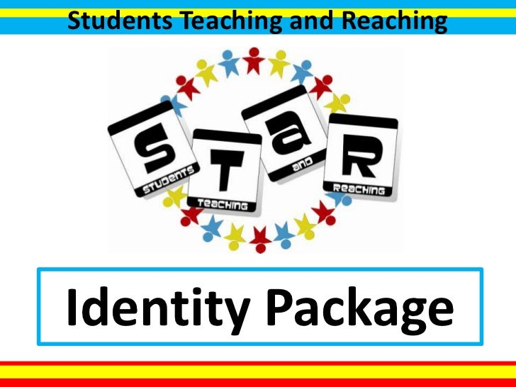 Students Teaching and Reaching<br />Identity Package<br />
