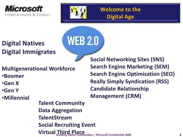 Microsoft Building Talent Communities Slide 3