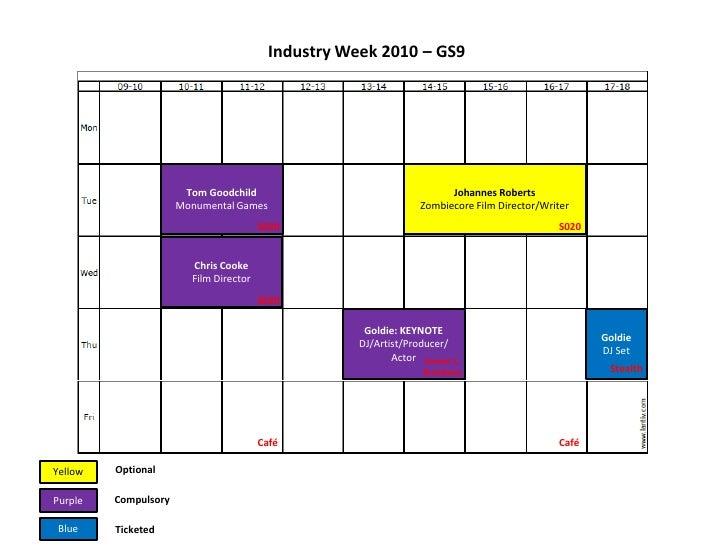 Industry Week 2010 – GS9<br />Johannes Roberts<br />Zombiecore Film Director/Writer<br />Tom Goodchild<br />Monumental Gam...