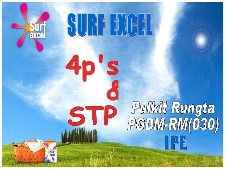 Surf Excel Marketing Strategy…!!!